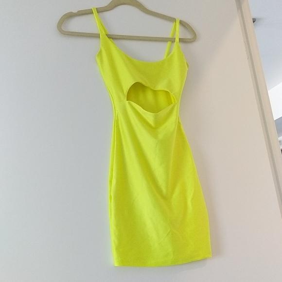 Fashion Nova Cut to the Chase Mini Dress